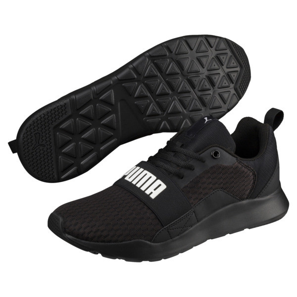 Wired Trainers, Puma Black-Puma Black- Black, large