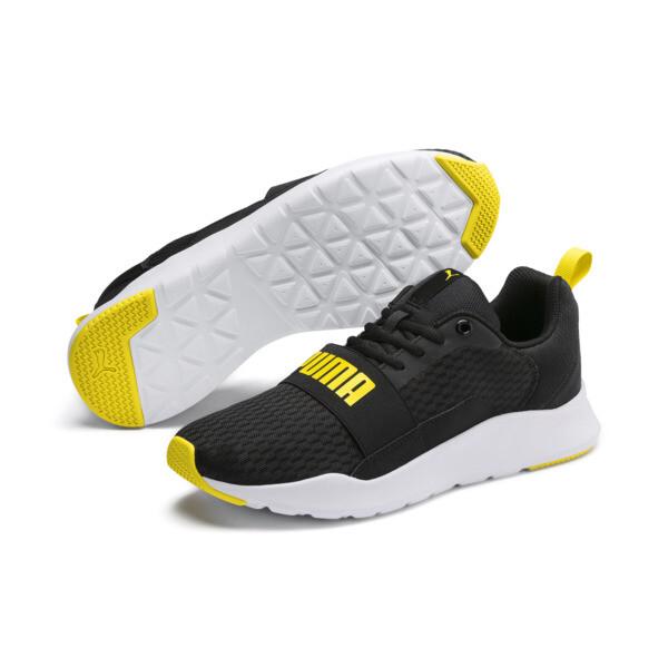 プーマ ワイヤード, Puma Black-Blazing Yellow, large-JPN