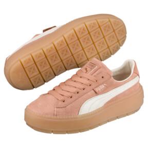 Thumbnail 2 of Platform Trace Corduroy Women's Sneakers, 01, medium