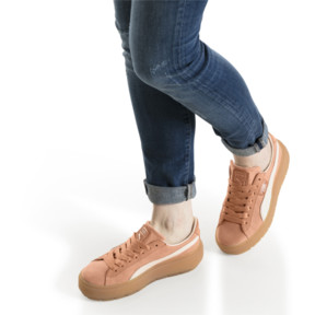 Thumbnail 7 of Platform Trace Corduroy Women's Sneakers, 01, medium