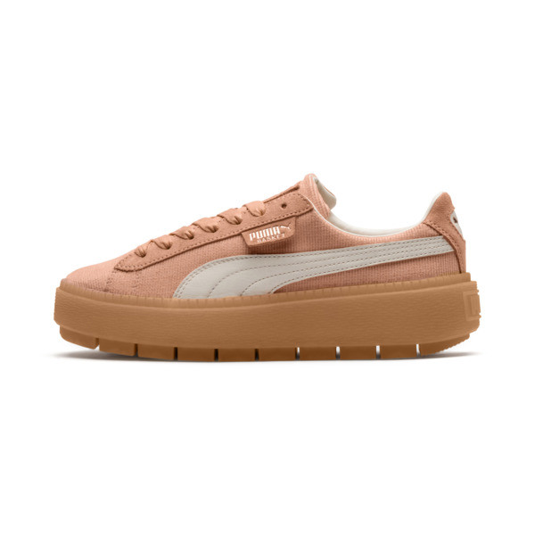 Platform Trace Corduroy Women's Sneakers, 01, large