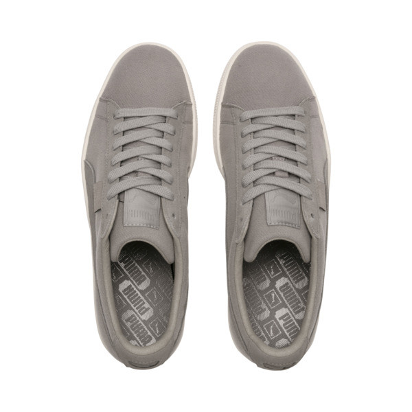 Basket Classic Cocoon Sneakers, Elephant Skin-Whisper White, large
