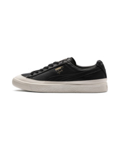 Image Puma Clyde Rubber Toe Leather Sneakers
