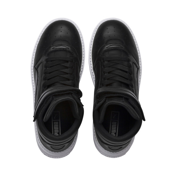 Platform Trace STMT Women's Sneakers, Puma Black-Puma Black, large