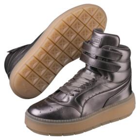 Thumbnail 2 of Platform Trace STMT Luxe Women's Sneakers, QUIET SHADE-QUIET SHADE, medium