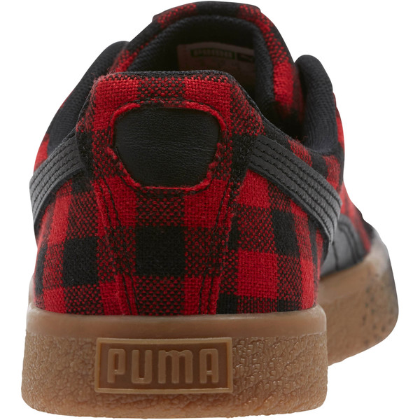 Clyde Red Buffalo Plaid, Toreador-Puma Black, large
