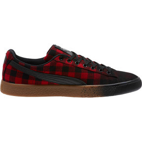 Thumbnail 3 of Clyde Red Buffalo Plaid, Toreador-Puma Black, medium