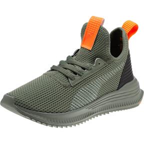 Thumbnail 1 of AVID FoF JR Sneakers, L.Wreath-P.Blk-Sh.Orange, medium