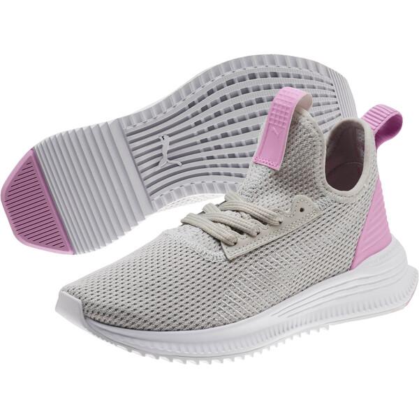 AVID FoF JR Sneakers, Gray Violet-Orchid, large