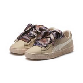 Thumbnail 2 of Basket Heart Mimicry Women's Sneakers, Vanilla Cream-Vanilla Cream, medium