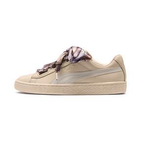 Thumbnail 1 of Basket Heart Mimicry Women's Sneakers, Vanilla Cream-Vanilla Cream, medium