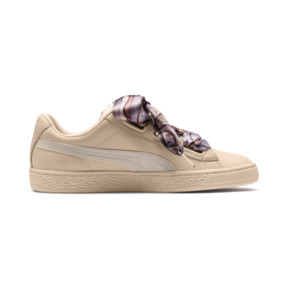 Thumbnail 5 of Basket Heart Mimicry Women's Sneakers, Vanilla Cream-Vanilla Cream, medium