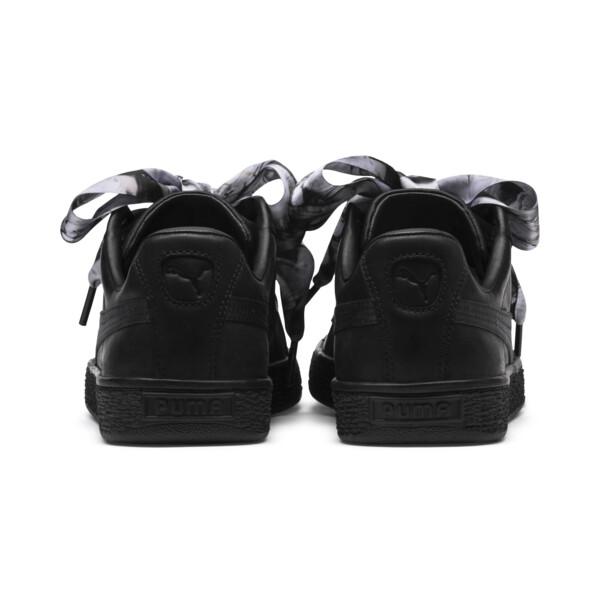 Basket Heart Mimicry Women's Sneakers, Puma Black-Puma Black, large