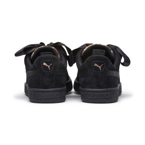 Thumbnail 4 of Suede Heart Arctica Women's Trainers, Puma Black-Puma Black, medium
