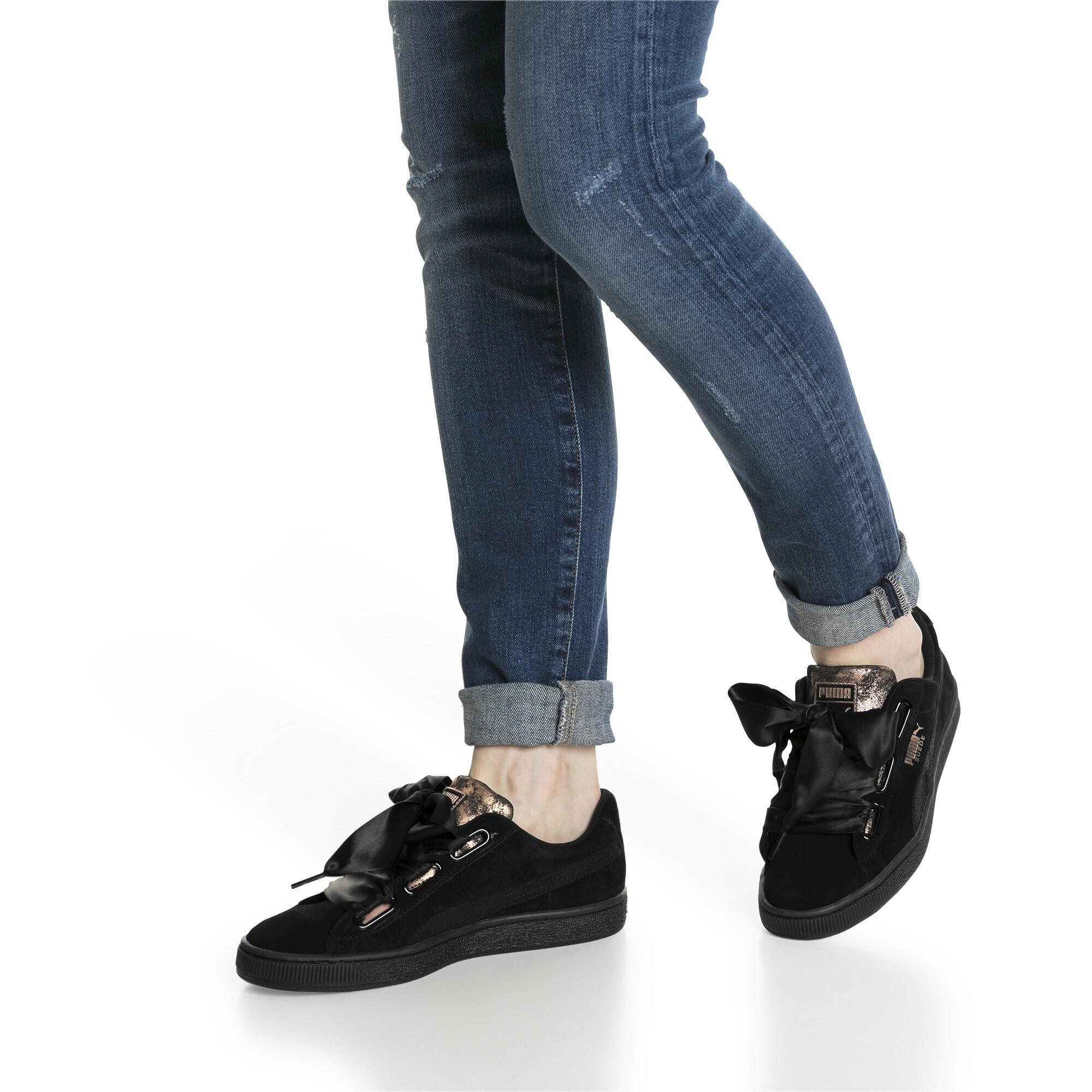 Image Puma Suede Heart Arctica Women's Sneakers #7