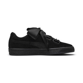 Thumbnail 5 of Suede Heart Arctica Women's Trainers, Puma Black-Puma Black, medium