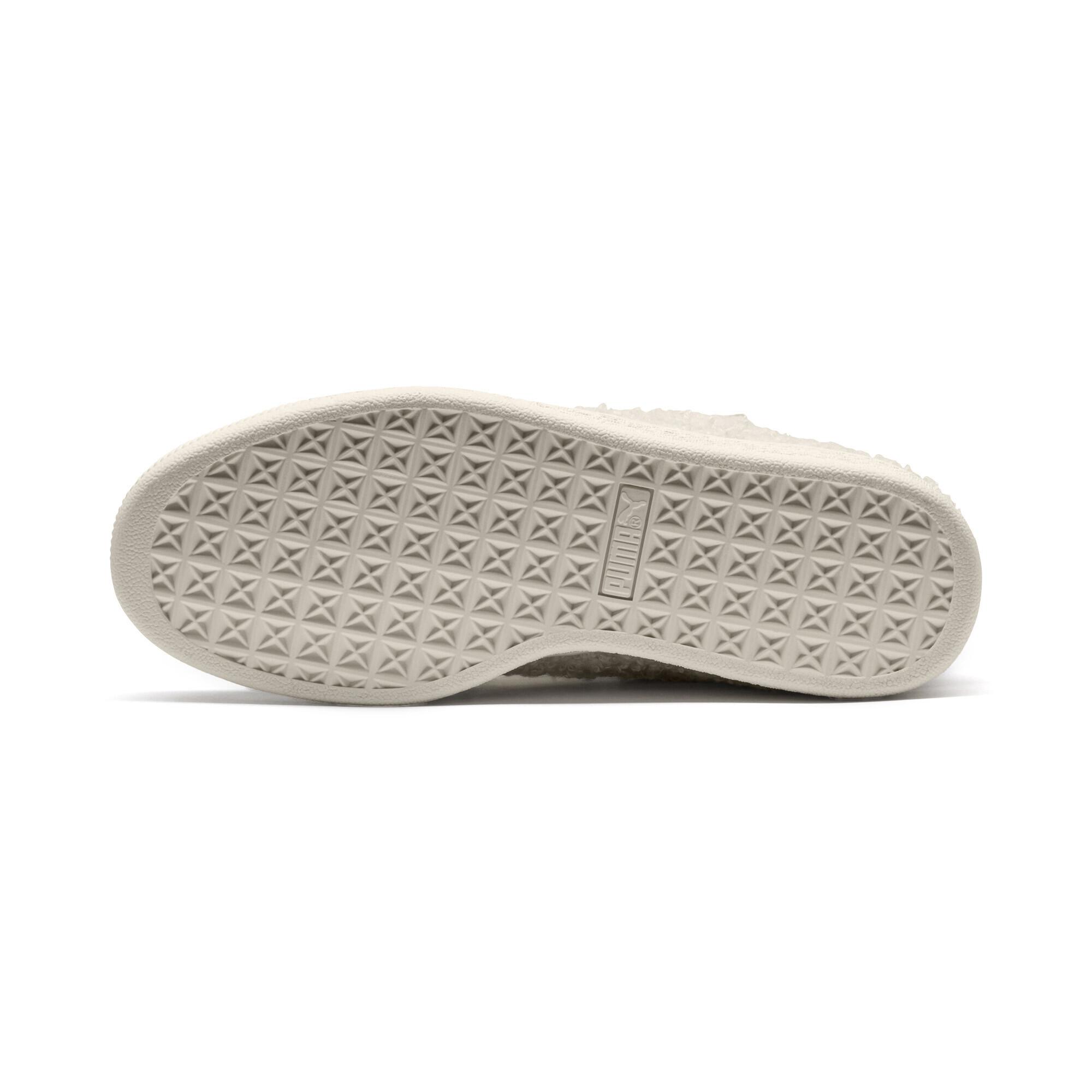 PUMA-Basket-Heart-Teddy-Women-s-Sneakers-Women-Shoe thumbnail 5