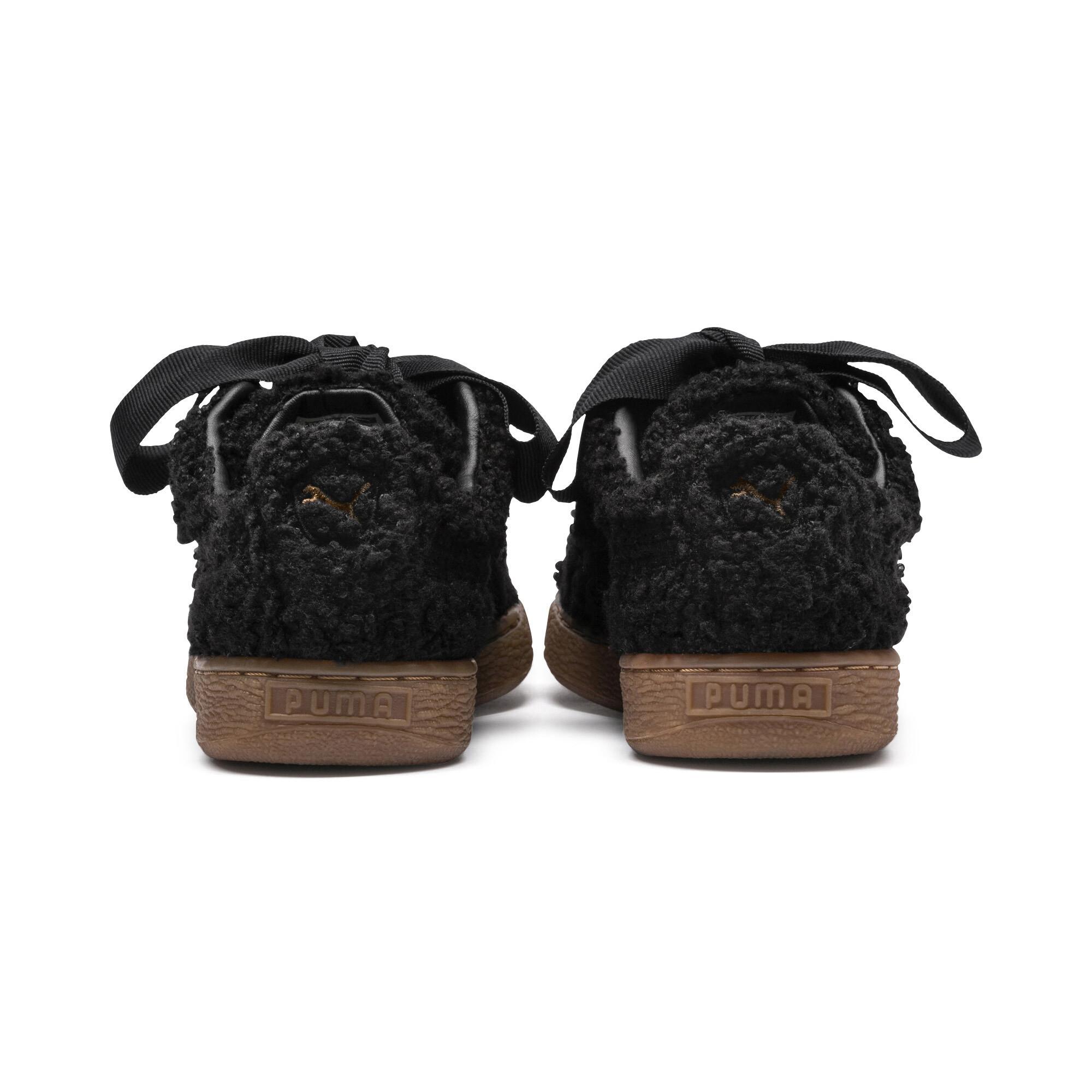 PUMA-Basket-Heart-Teddy-Women-s-Sneakers-Women-Shoe thumbnail 9