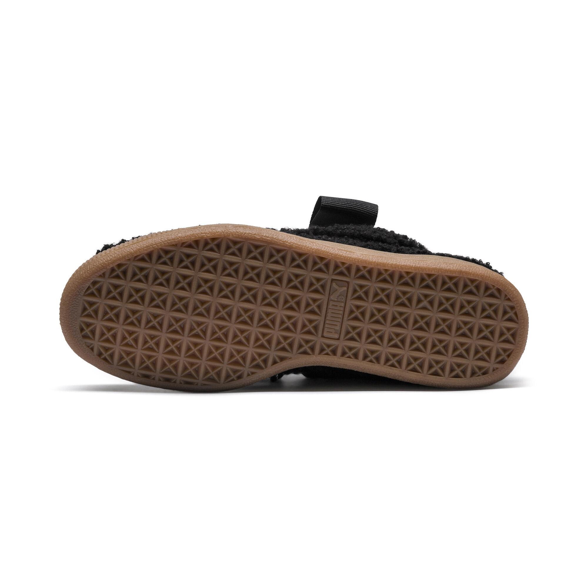 PUMA-Basket-Heart-Teddy-Women-s-Sneakers-Women-Shoe thumbnail 11