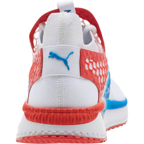 Thumbnail 4 of TSUGI NETFIT v2 Firecracker, Puma White-Flame Scarlet, medium