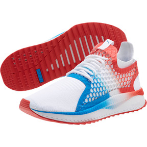 Thumbnail 2 of TSUGI NETFIT v2 Firecracker, Puma White-Flame Scarlet, medium