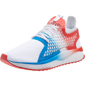 Thumbnail 1 of TSUGI NETFIT v2 Firecracker, Puma White-Flame Scarlet, medium