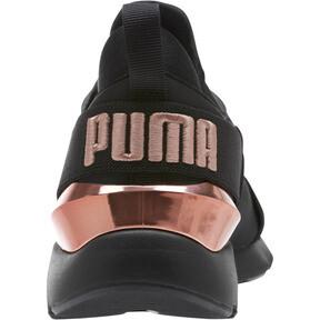 Thumbnail 3 of Muse Metal Women's Sneakers, Puma Black-Rose Gold, medium