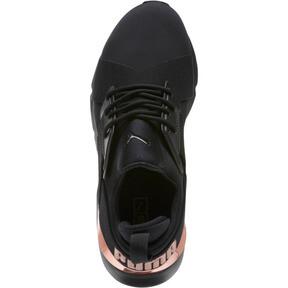 Thumbnail 5 of Muse Metal Women's Sneakers, Puma Black-Rose Gold, medium