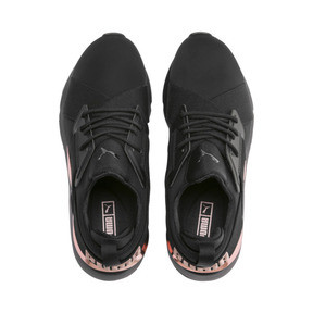 Thumbnail 6 of Muse Metal Women's Trainers, Puma Black-Rose Gold, medium
