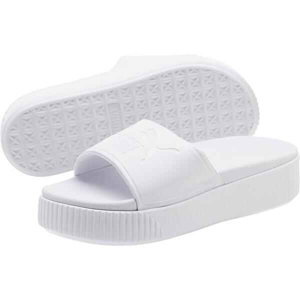 Platform Slide Bold Women's Sandals, 02, large