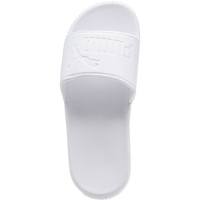 Thumbnail 5 of Platform Slide Bold Women's Sandals, Puma White-Puma White, medium