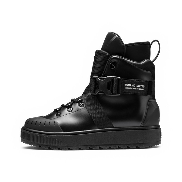 PUMA x OUTLAW MOSCOW Ren Boots, Puma Black, large