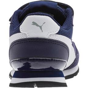 Thumbnail 3 of ST Runner v2 Mesh AC Little Kids' Shoes, Peacoat-Puma White, medium