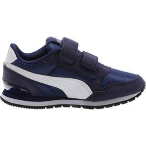 Thumbnail 4 of ST Runner v2 Mesh AC Little Kids' Shoes, Peacoat-Puma White, medium