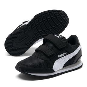 Thumbnail 2 of ST Runner v2 Mesh AC Sneakers PS, Puma Black-Puma White, medium