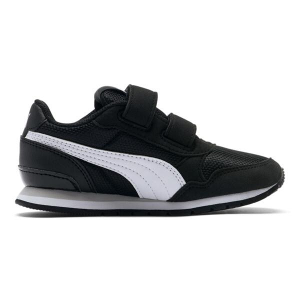 ST Runner v2 Mesh AC Sneakers PS, Puma Black-Puma White, large