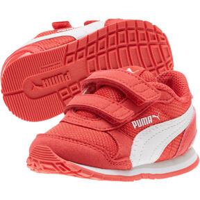 Thumbnail 2 of ST Runner v2 Mesh AC Toddler Shoes, Hibiscus -Puma White, medium