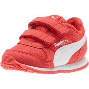 Thumbnail 1 of ST Runner v2 Mesh AC Toddler Shoes, Hibiscus -Puma White, medium