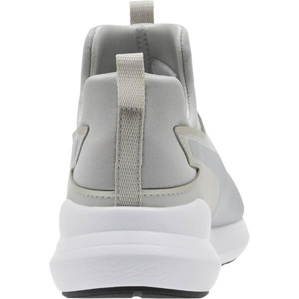 Puma Rebel Mid Glow JR Sneakers, Gray Violet-Puma Silver, large