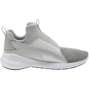 Thumbnail 3 of Puma Rebel Mid Glow JR Sneakers, 02, medium