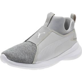 Thumbnail 1 of Puma Rebel Mid Glow Preschool Sneakers, 02, medium