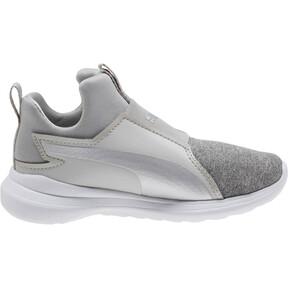 Thumbnail 3 of Puma Rebel Mid Glow Preschool Sneakers, 02, medium