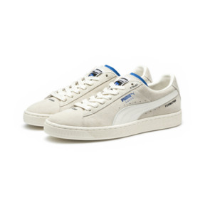 Thumbnail 2 of PUMA x ADER ERROR Suede Trainers, Whisper White, medium