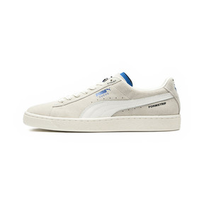 Thumbnail 1 of PUMA x ADER ERROR Suede Trainers, Whisper White, medium