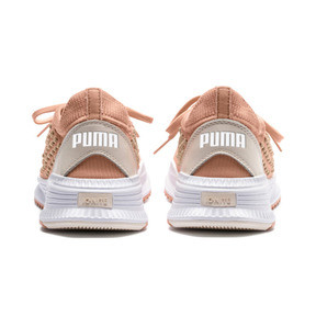 Thumbnail 4 of AVID FUSEFIT Evolution Sneaker, Dusty Coral-Gold-White, medium