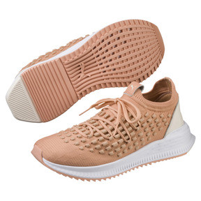 Thumbnail 2 of AVID FUSEFIT Evolution Sneaker, Dusty Coral-Gold-White, medium