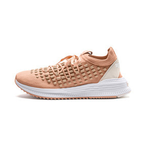 Thumbnail 1 of AVID FUSEFIT Evolution Sneaker, Dusty Coral-Gold-White, medium
