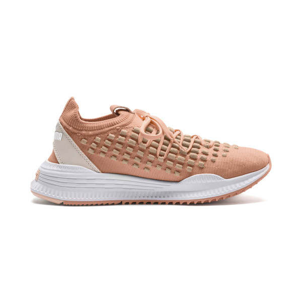 AVID FUSEFIT Trainers, Dusty Coral-Gold-White, large