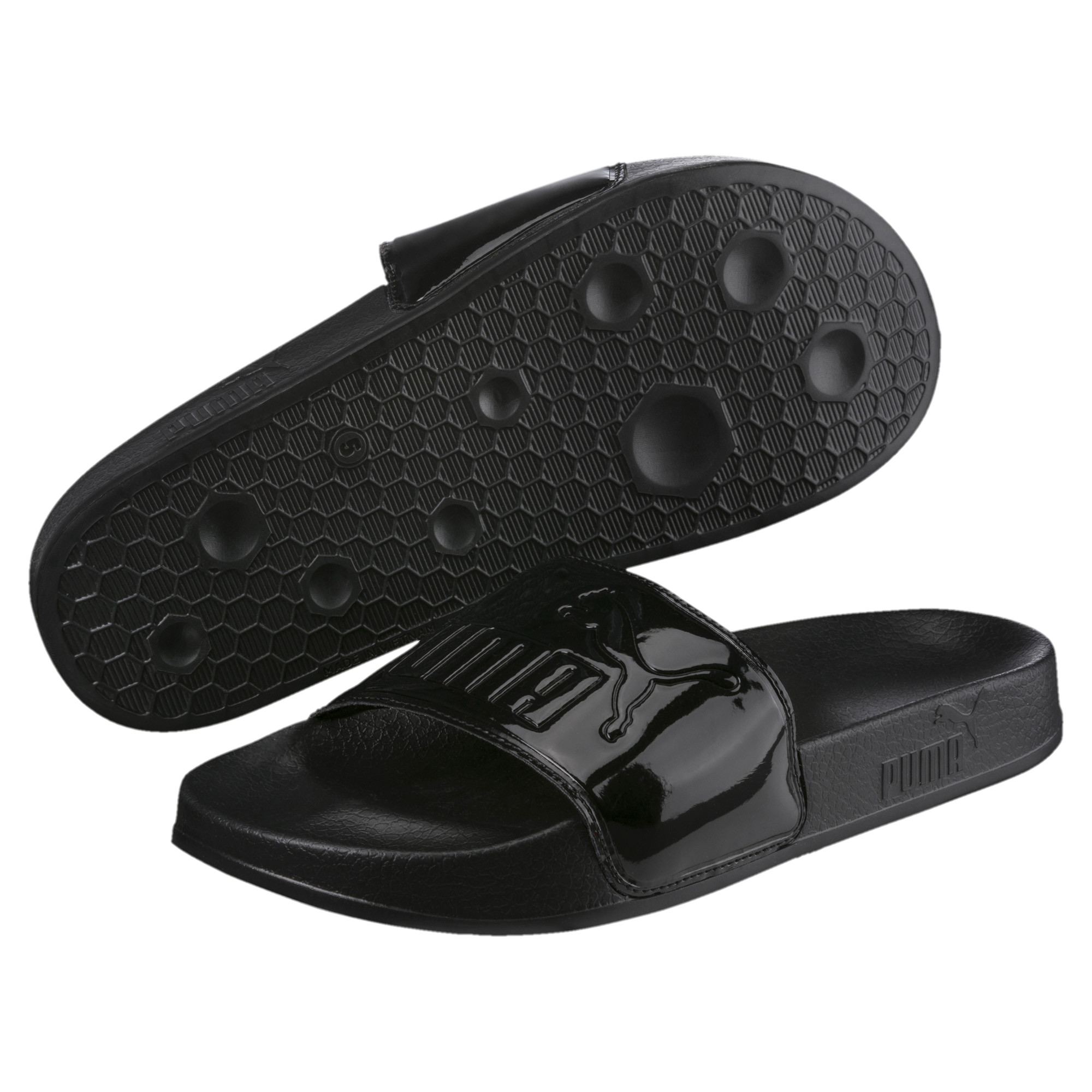 Image Puma Leadcat Patent Slide Women's Sandals #2