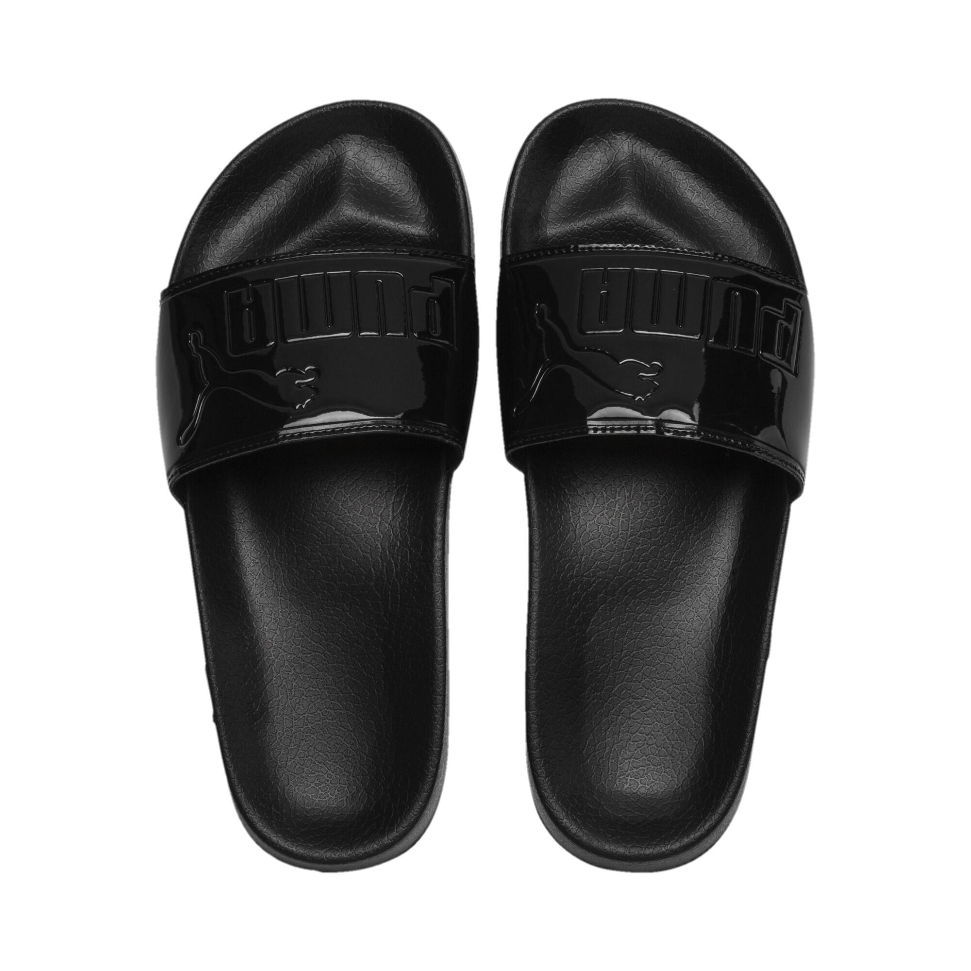 Image Puma Leadcat Patent Slide Women's Sandals #6